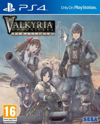 Valkyria Chronicles Remastered til Playstation 4