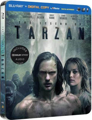 The Legend of Tarzan Steelbook
