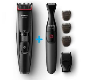 Philips - Beardtrimmer + BodyGroom Giftpack BT5202/80