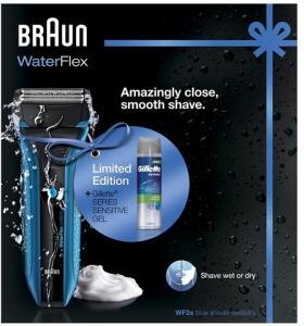 Braun WF2s + Gillette Gel