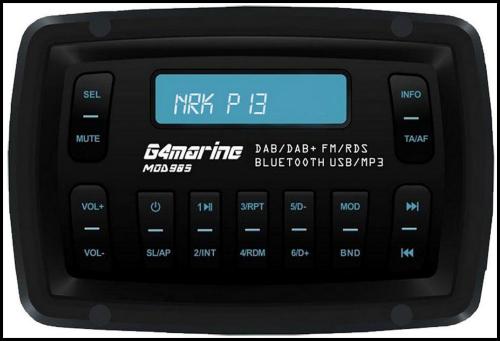 G4Marine DAB/DAB+ Radio