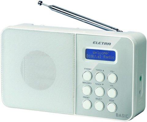 Eletra EBASIC16W DAB+ RADIO