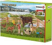 Schleich 97335 julekalender med bondegårdstema