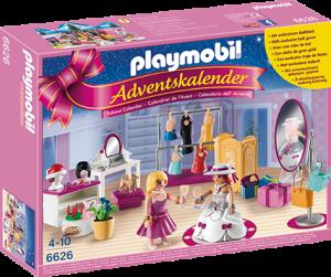 Playmobil 6626 julekalender med påkledningsrom