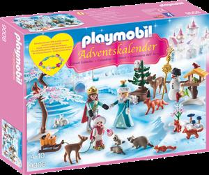Playmobil 9008 julekalender kongelig skøytetur