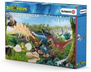 Schleich 97152 julekalender med dinosaurer