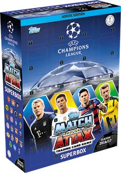 Topps Match Attax Champions League Julekalender