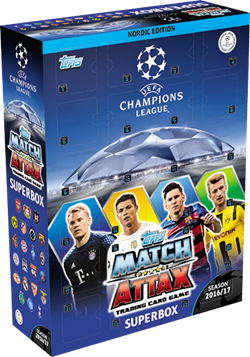 Topps Match Attax Champions League Julekalender
