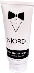 Njord Black Peel Off Mask 100ml