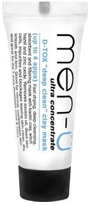 Men-Ü D-Tox Deep Cleansing Clay Mask 15ml
