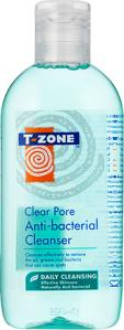 T-zone Clear Pore Anti-Bacterial Cleanser 200ml