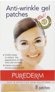 Purederm Anti-Wrinkle Gel Patches 8 Stk