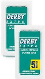 Derby Extra Double Edge Barberblader 10 Stk
