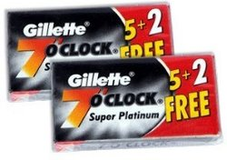 Gillette 7 O'Clock Super Platinium 14 Stk