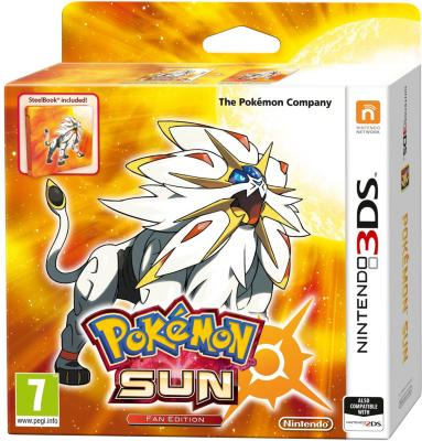 Pokémon Sun Fan Edition til 3DS