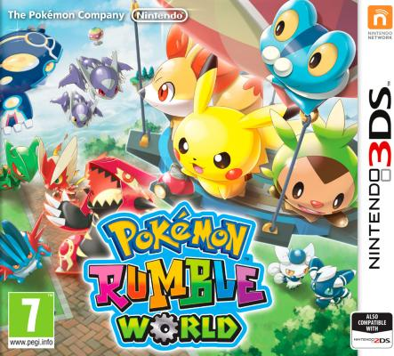 Pokémon Rumble World til 3DS