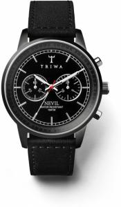 Triwa Midnight Nevil Black