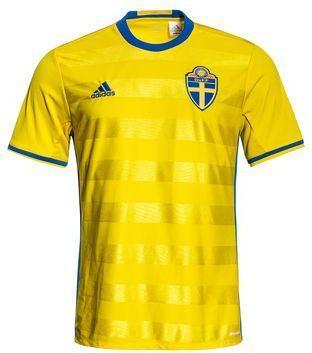 Adidas Sverige Hjemmedrakt 2016/17 (Unisex)