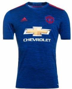 Adidas Manchester United Bortedrakt 2016/17 (Unisex)