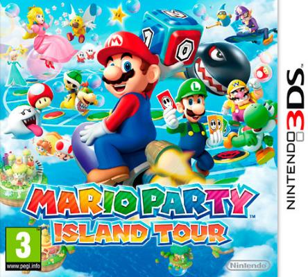 Mario Party: Island Tour til 3DS