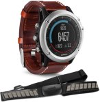 Garmin Fenix 3 Sapphire Performer Bundle Leather