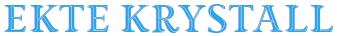 Ektekrystall.no logo
