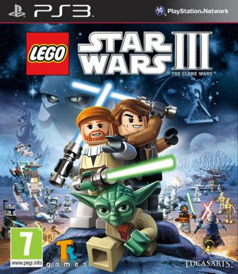 LEGO Star Wars III: The Clone Wars til PlayStation 3