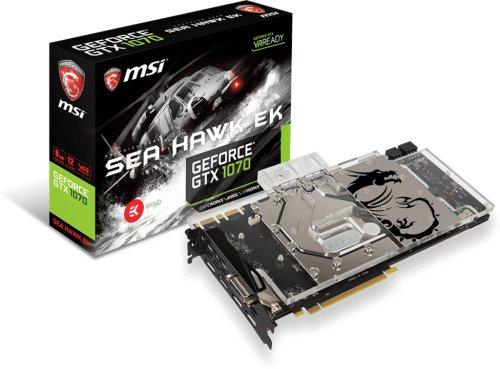 MSI GeForce GTX 1070 Sea Hawk EK X