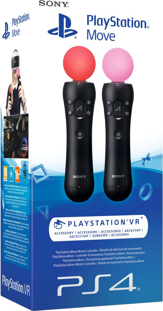 Sony Playstation Move Twin Pack Svart | Dustinhome.no
