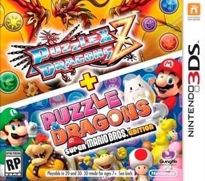 Puzzle & Dragons Z + Puzzle & Dragons Super Mario Bros. Edition til 3DS