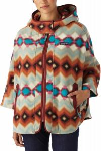 Patagonia Lightweight Synchilla Poncho Timber Twist (Dame)