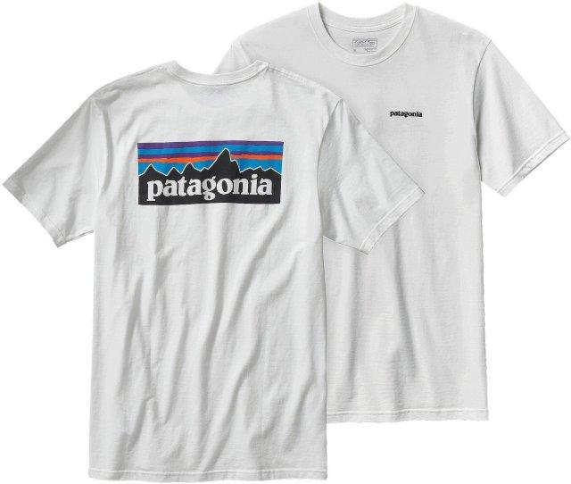 Patagonia P-6 Logo Organic Cotton T-Shirt (Herre)
