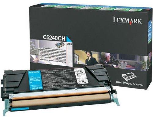 Lexmark C524 Cyan stor