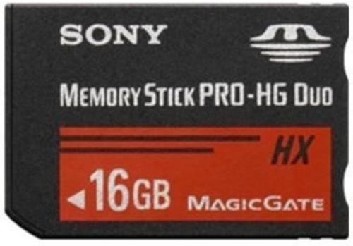 Sony Memory Stick PRO-HG Duo 16 GB