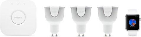 Philips Hue White and Color Ambiance Startpakke GU10