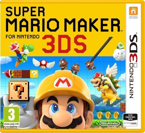 Super Mario Maker for Nintendo 3DS til 3DS