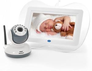 Babycall med skjerm, nattsyn og toveis intercom
