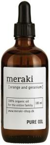 Meraki Orange and Geranium Pure Oil 100ml