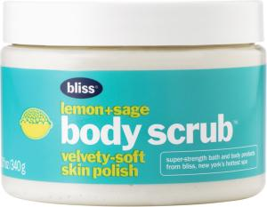 Bliss Lemon + Sage Body Scrub 340ml