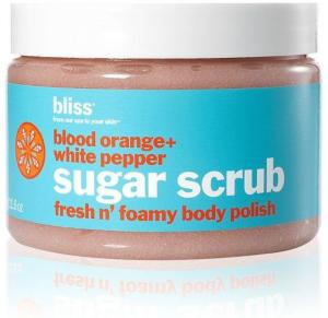 Bliss Blood Orange + White Pepper Body Scrub 355ml