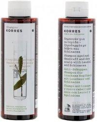 Korres Shampoo Tørr hodebunn/Flass 250ml