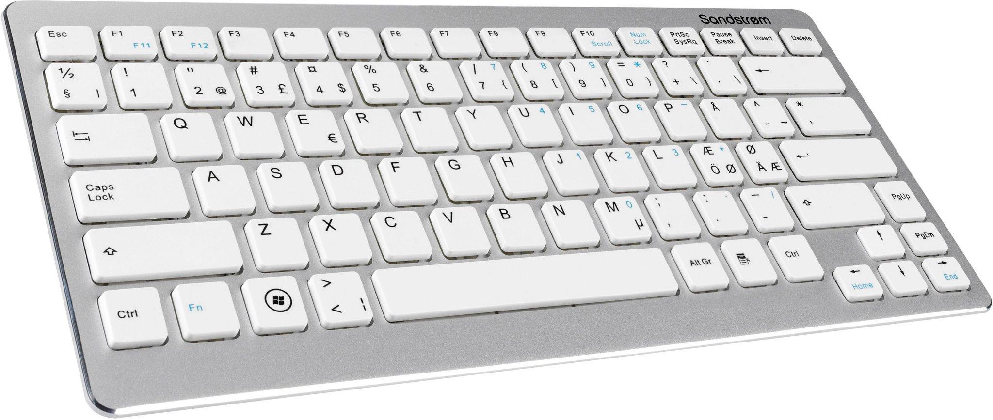 Sandstrøm Bluetooth trådløst tastatur   FINN.no