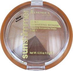Rimmel Sun Shimmer 3 In 1 Bronzer