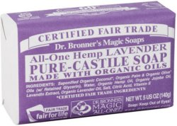 Dr. Bronner's Magic Soaps All-One Hemp Lavender 140g