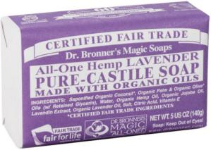 Dr. Bronner's Magic Soaps All-One Hemp Lavender 140g