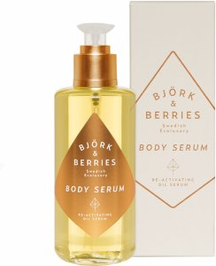 Björk & Berries Body Serum Re-Activating Oil Serum 200ml