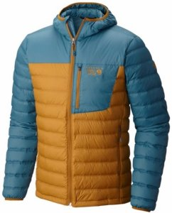 Mountain Hardwear Dynotherm Hooded Down Jacket (Herre)