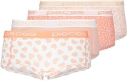 Pieces Boxershorts 4-Pack (Dame)