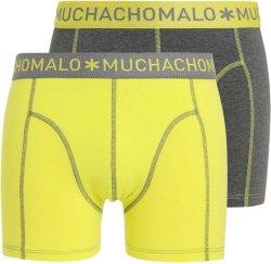 Muchachomalo Solid Boxer Run 2-Pack (Herre)