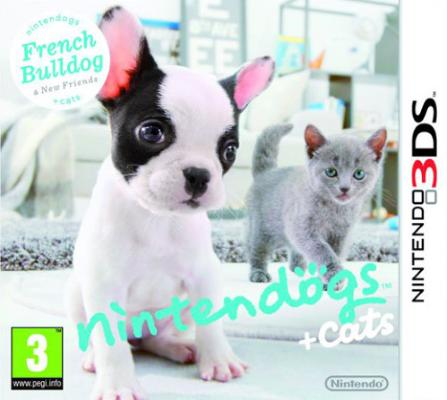 nintendogs + cats til 3DS